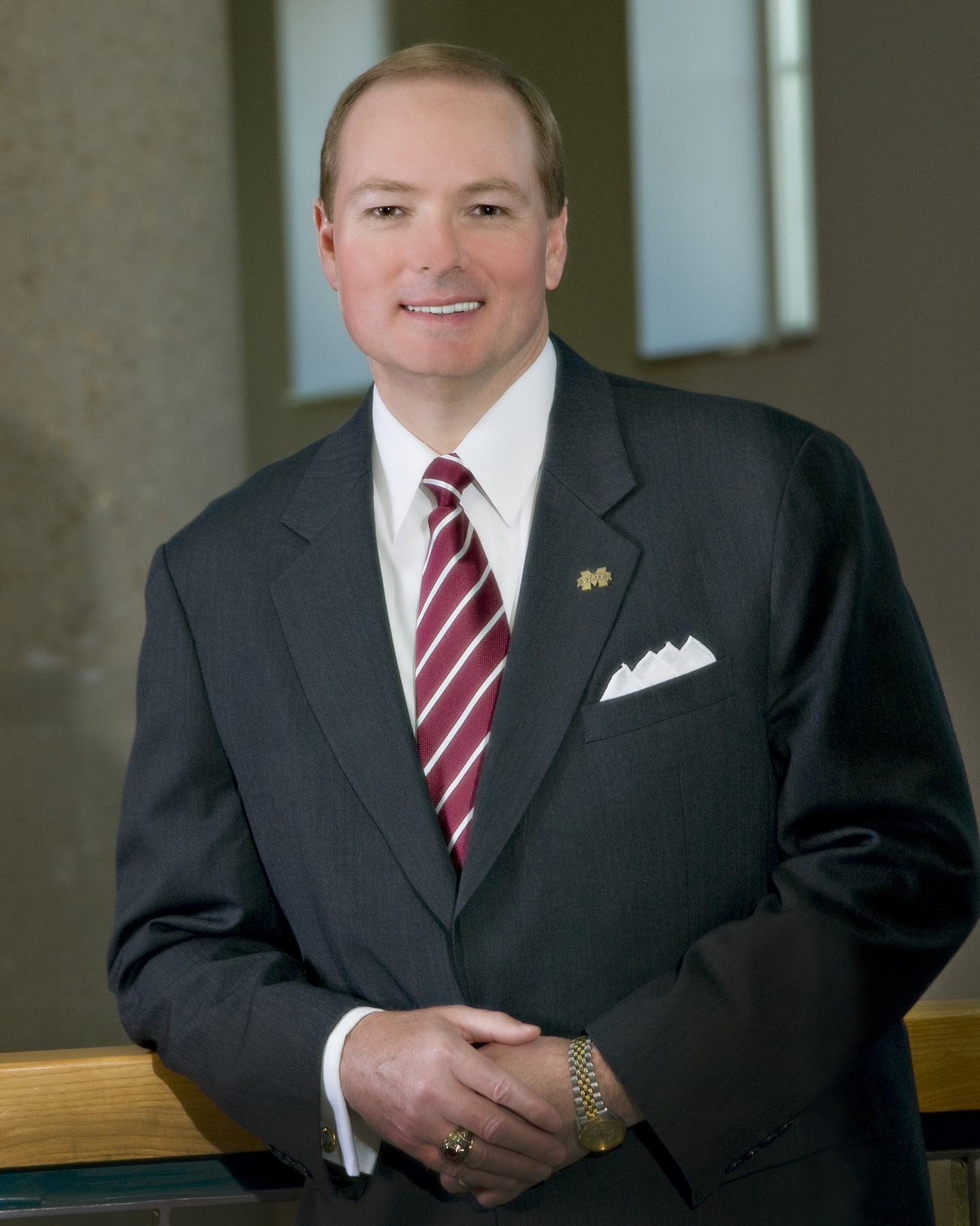 MSU President Mark E. Keenum