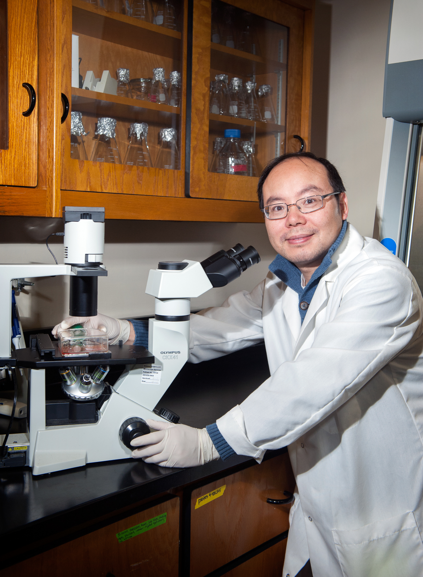 Dr. Henry Wan, an associate professor at Mississippi State University's College of Veterinary Medicine, has been awarded a National Institutes of Health RO1 grant to develop better ways of determining new flu vaccines.